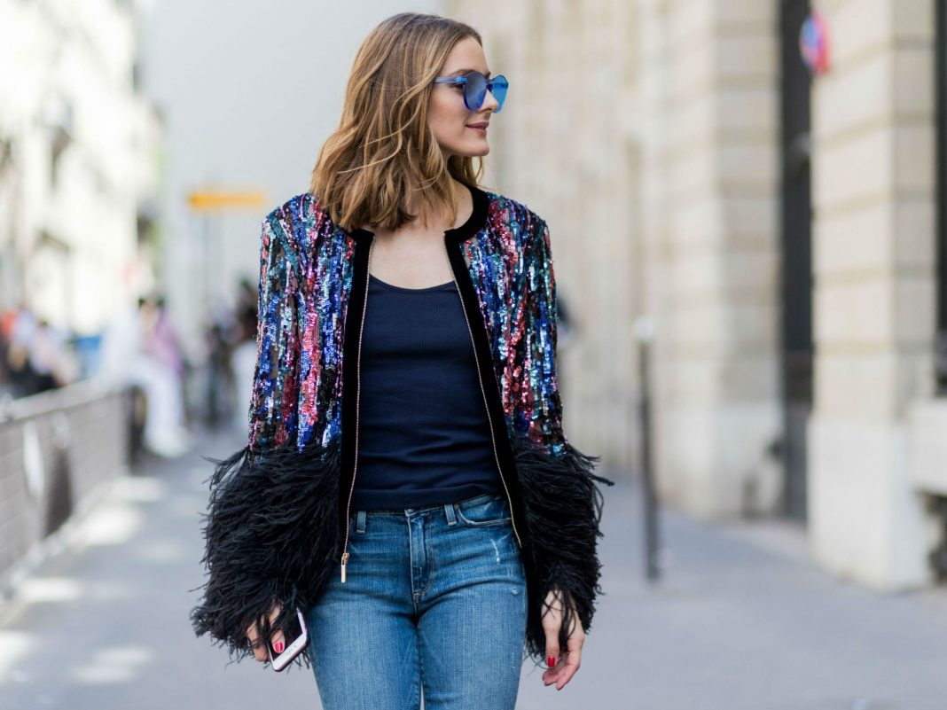 fashionable denim outfit