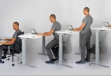 Sit stand desks - Sit and Stay